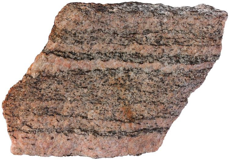 Large White Granite Rock : Gneiss metamorphic rocks