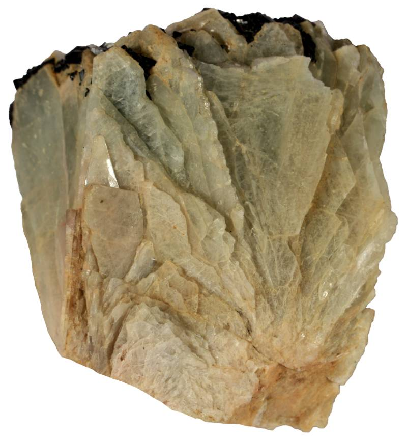 Cleavelandite (variety of albite).