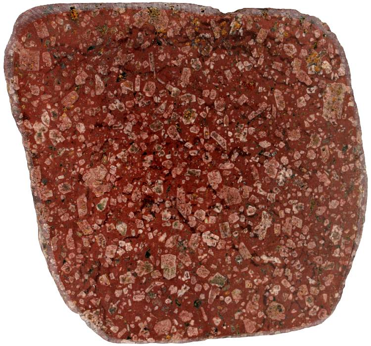 Porphyry rock sample