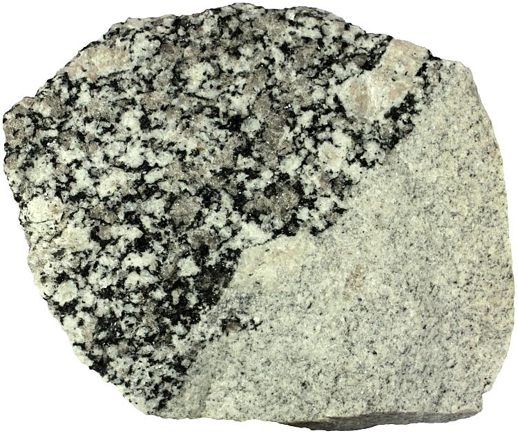 Aplite rock sample