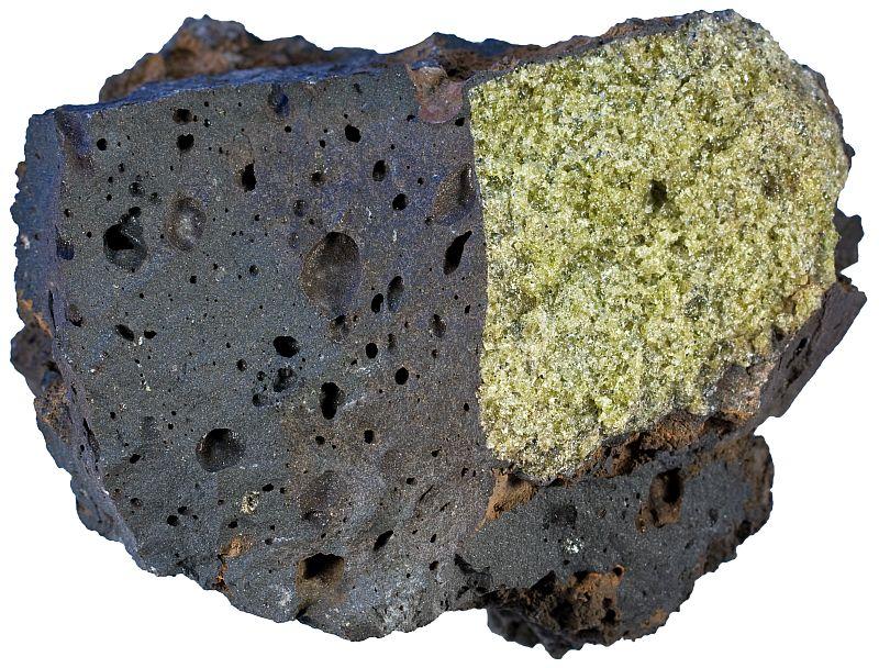 Dun. xenolith