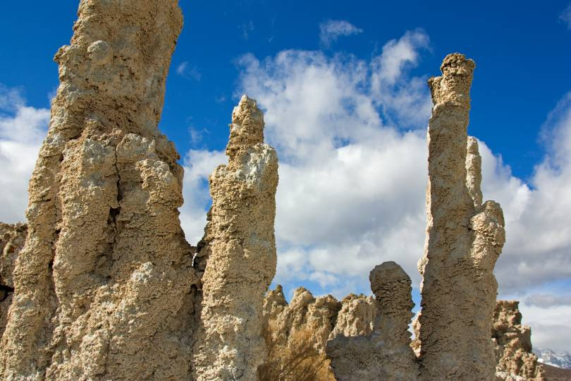 Tufa towers of Mono Lake.