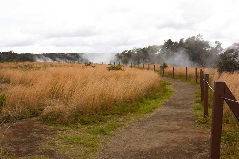 Volcanic gas, Halemaumau crater