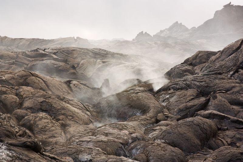 Hazardous sulfurous volcanic gas