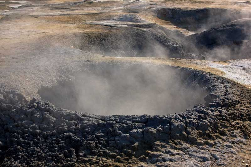 Mudpot in Iceland