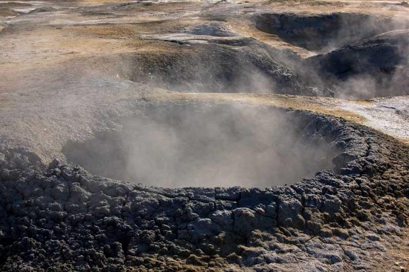 Mudpot in Iceland