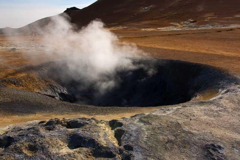 Fumarole in Iceland