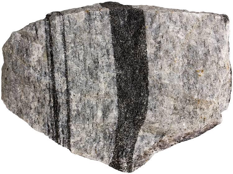 White Metamorphic Rock : Gneiss metamorphic rocks