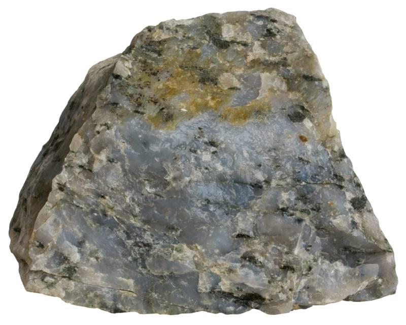 Blue rutilated quartz