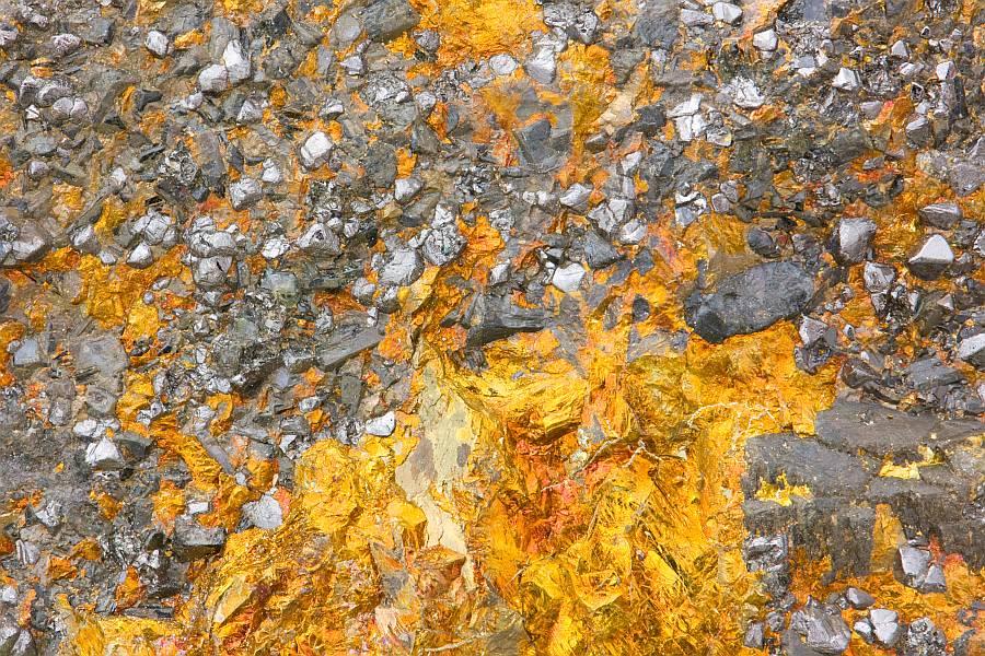 copper and iron ore