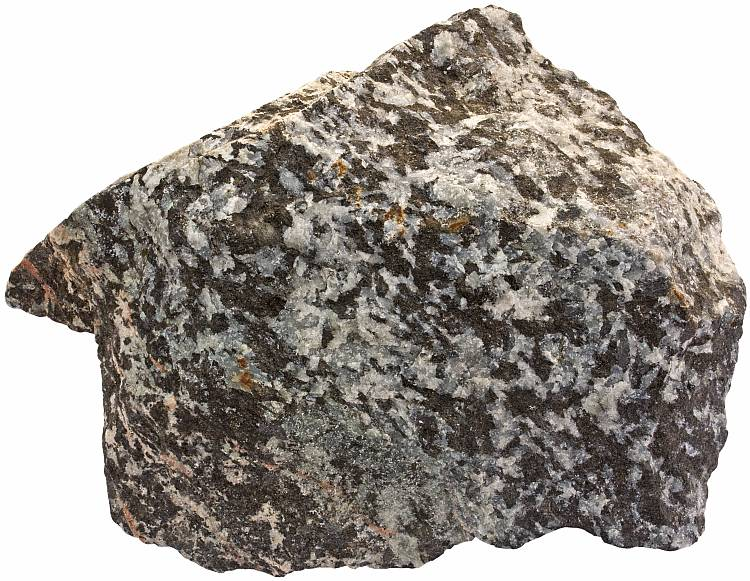Hornblende-scapolite rock
