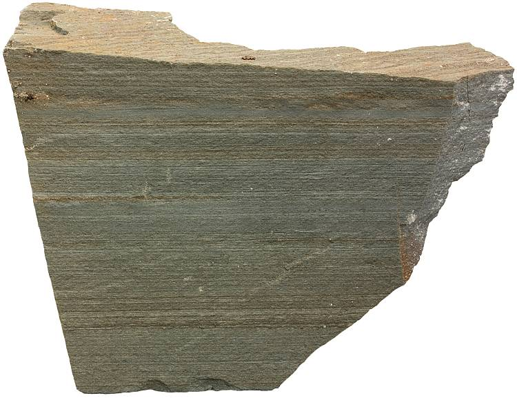 Finely laminated shale