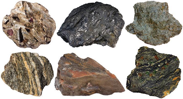 Varieties of schist