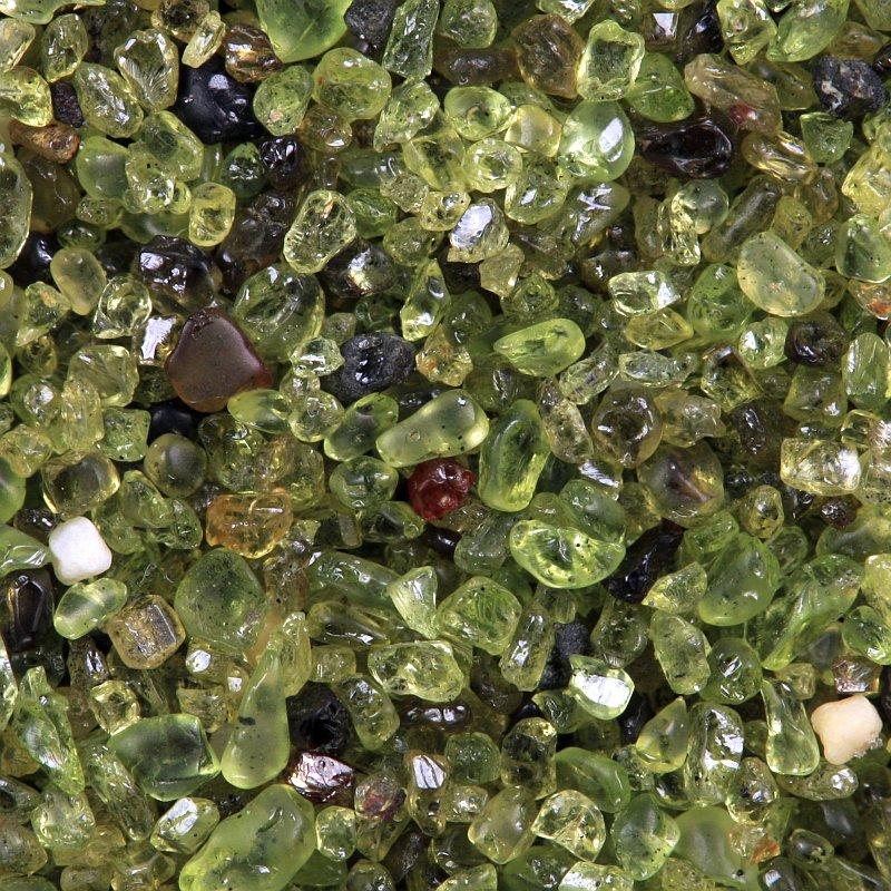 Papakolea olivine sand