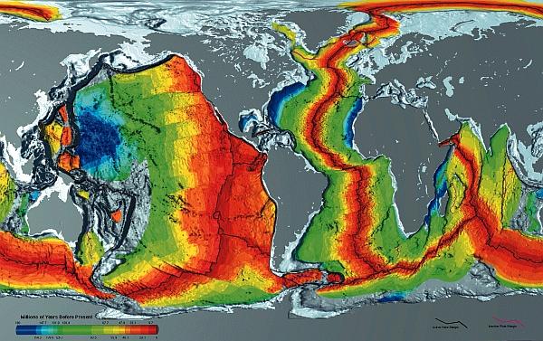 Sea floor age