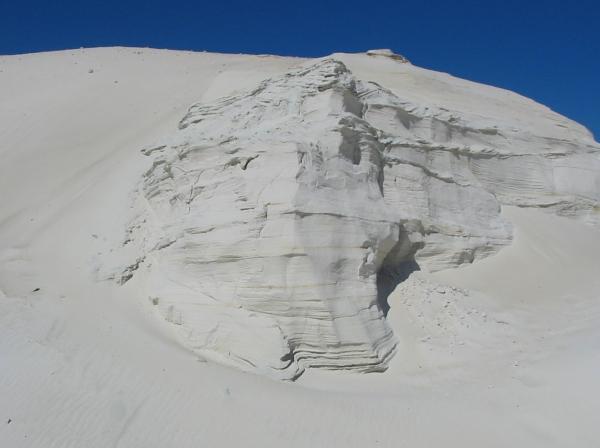 Sandstone in Tabina quarry